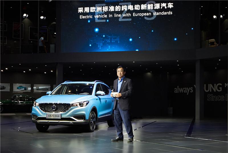 名爵ZS纯电动广州车展首秀 采用欧洲标准的纯电动新能源车最吸睛