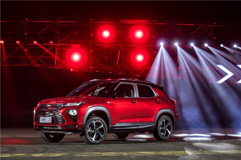 雪佛兰精悍新锐SUV创界Trailblazer新潮上市 售价13.99万元至17.99万元
