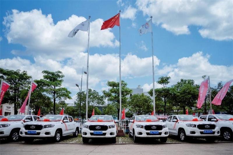 朋友圈又扩大!75台T60皮卡为媒 陕西11选5走势图表MAXUS结缘福建国网电力