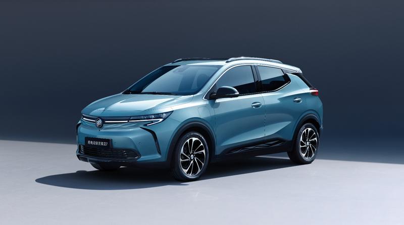 别克首款纯电动SUV微蓝7即将登场