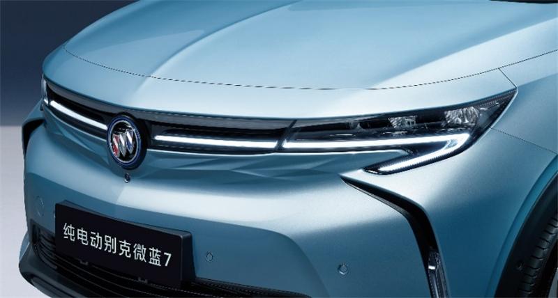 全新纯电动SUV别克微蓝7更多官图发布