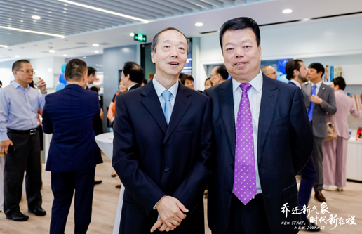Mr. Zhu Genlin, Vice Chairman of Automotive Branch was invited to attend the Opening Ceremony of New Office